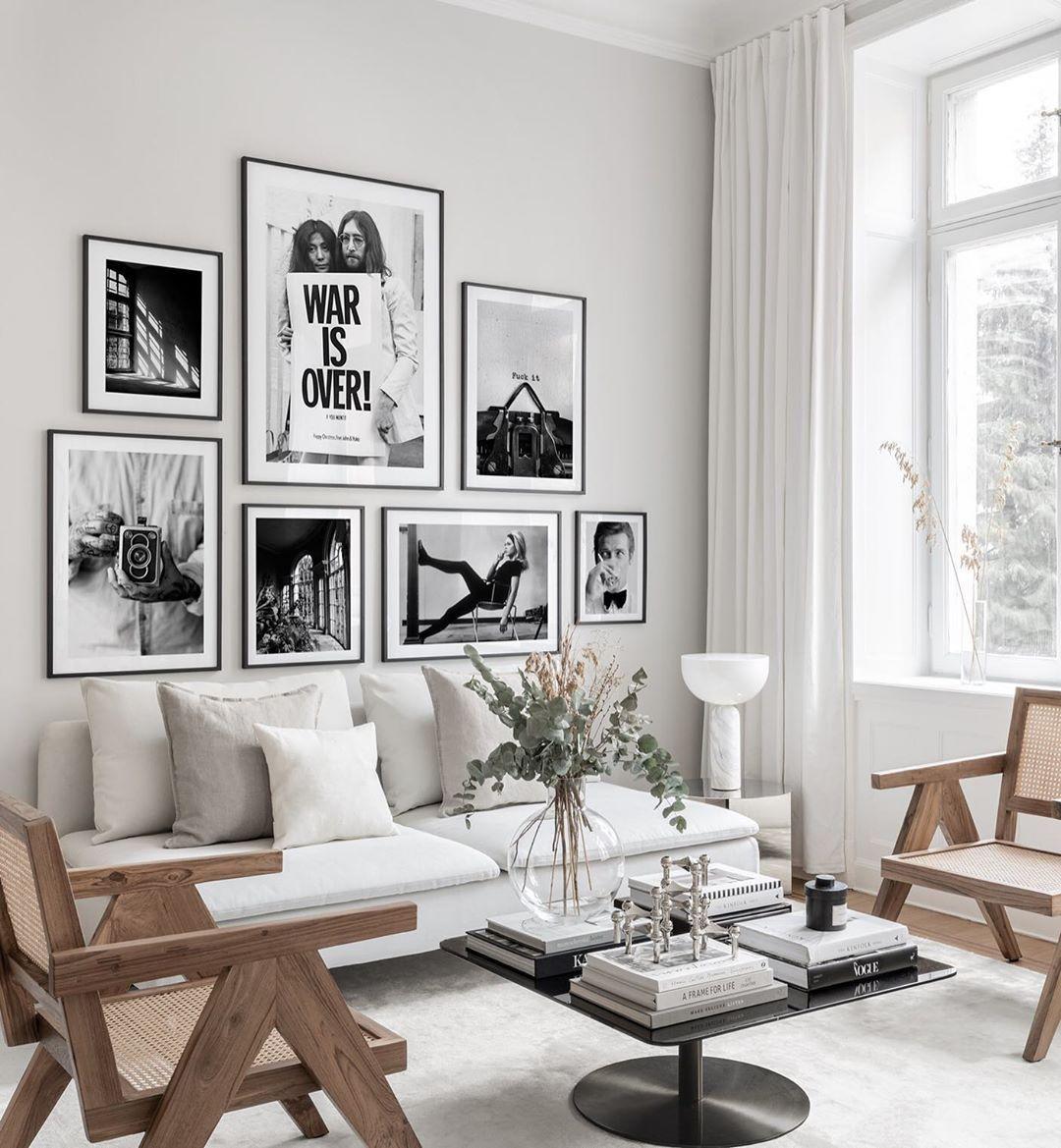 "Photo of Poster Store on Instagram: ""Dream. Plan. Do. ✨ . . . From left: Window Lights 30×40 cm in 40×50 cm Passepartout – Vintage Camera 50×70 cm – War is Over John Lennon…"""