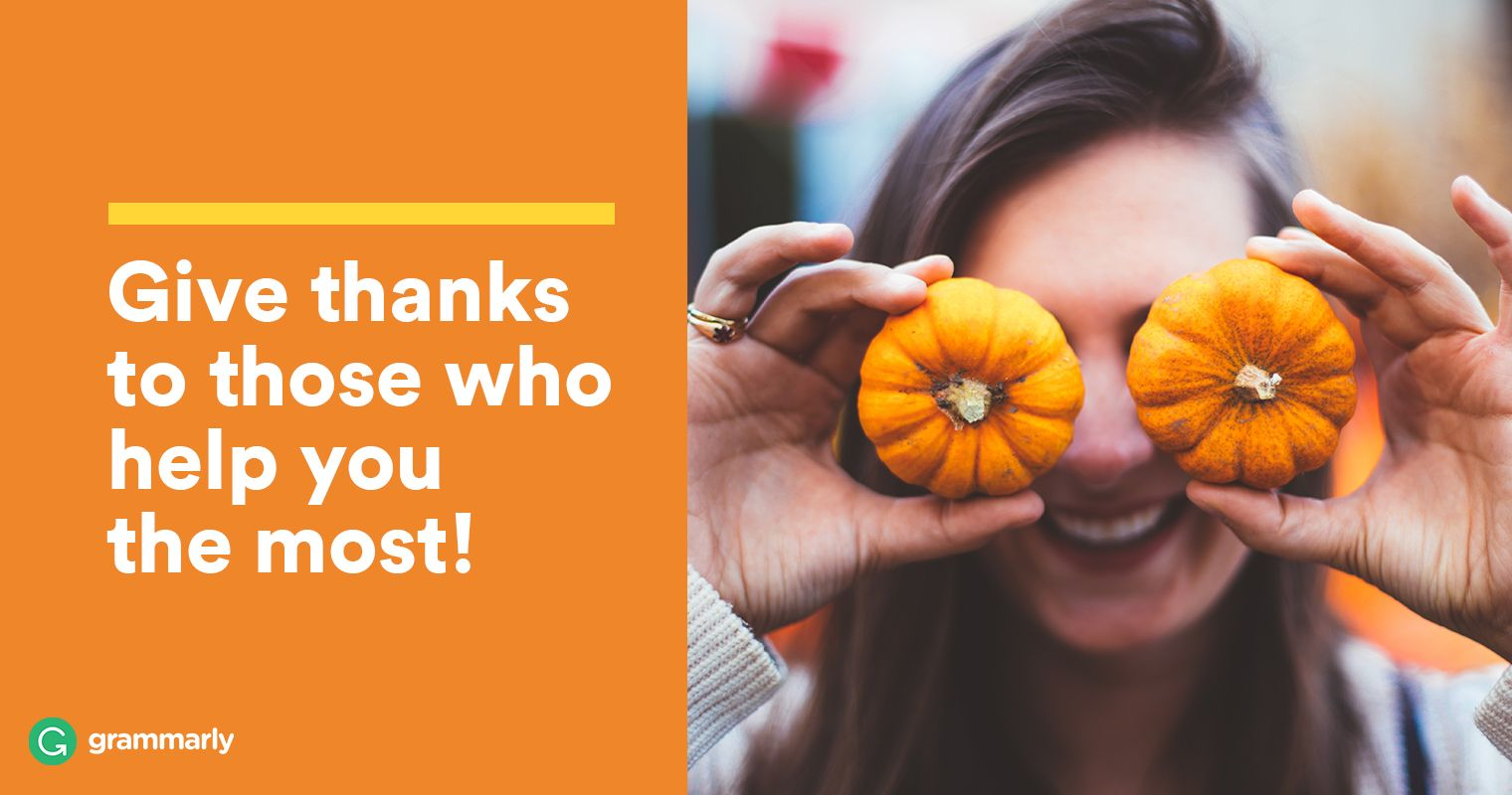 How to Write the Perfect Thanksgiving Message to