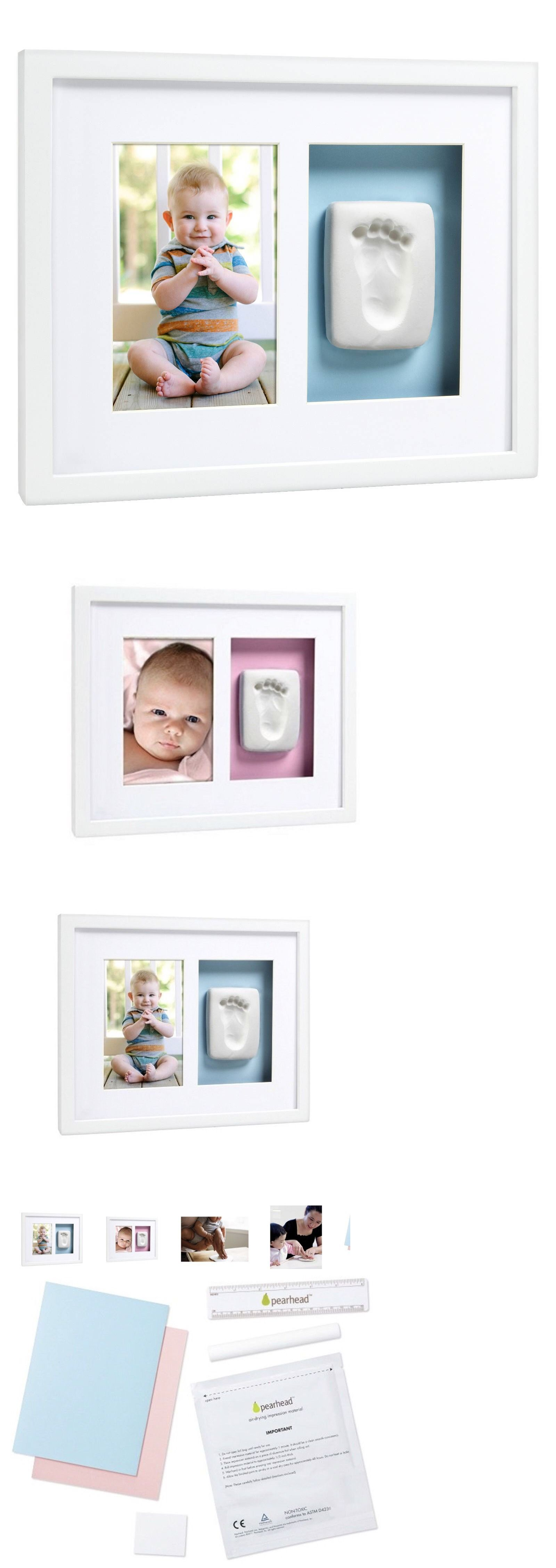 Pearhead Babyprints Memory Box With Imprint Kit White Pearhead Inc