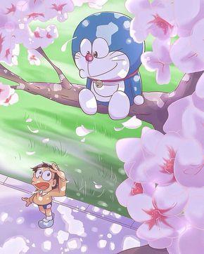 Loạt tranh Doraemon cùng bạn hữu 'cute hột me' dành cho fan cứng của mèo máy