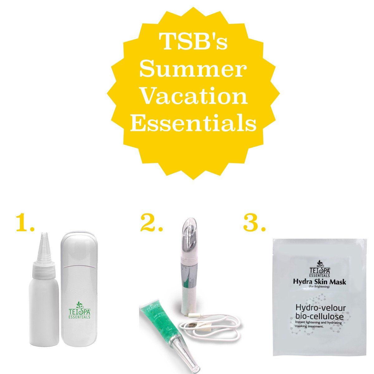 Tei Spa Beauty S 3 Summer Vacation Essentials