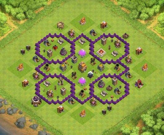 Base Coc Th 7 Kuat 1