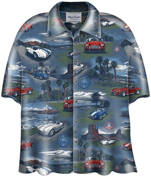 "LARGE Official GM Gear  CORVETTE /""ALOHA/"" Hawaiian Shirt MENS Brand NEW Tags!!!"