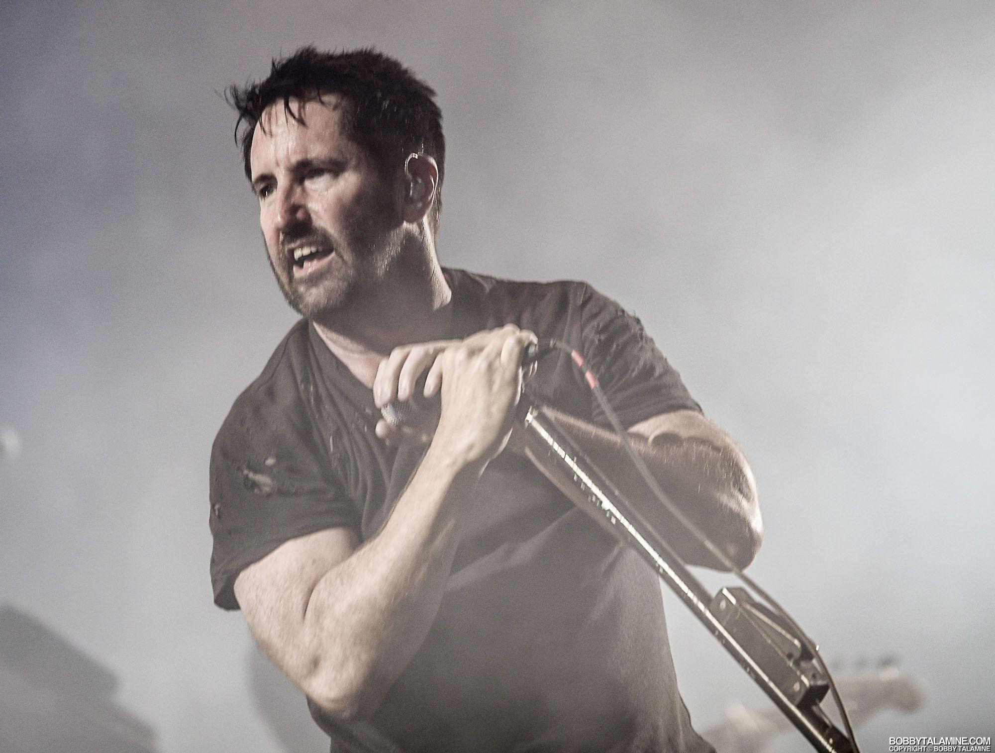 Nine Inch Nails / Trent Reznor at Riot Fest, 15 September 2017 ...