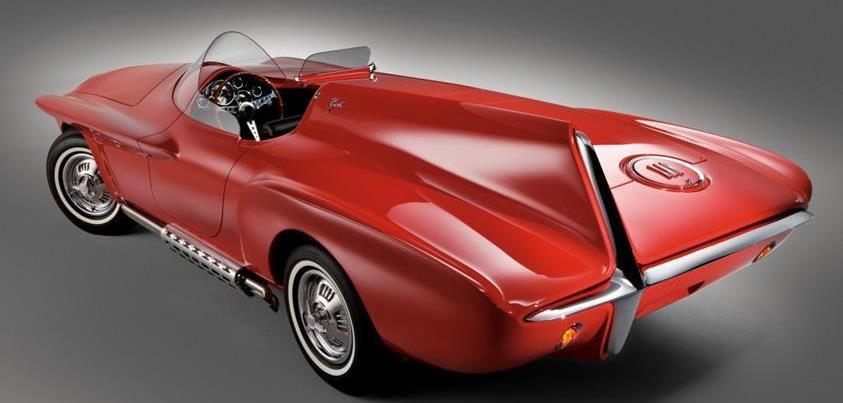 1960 Plymouth Nxr Concept Car Concept Cars Concept Cars
