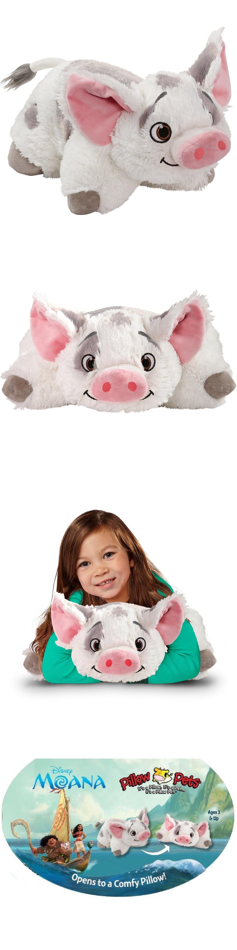 Disney 2597 Pillow Pets Disney Moana Pu A Pu A The Pig