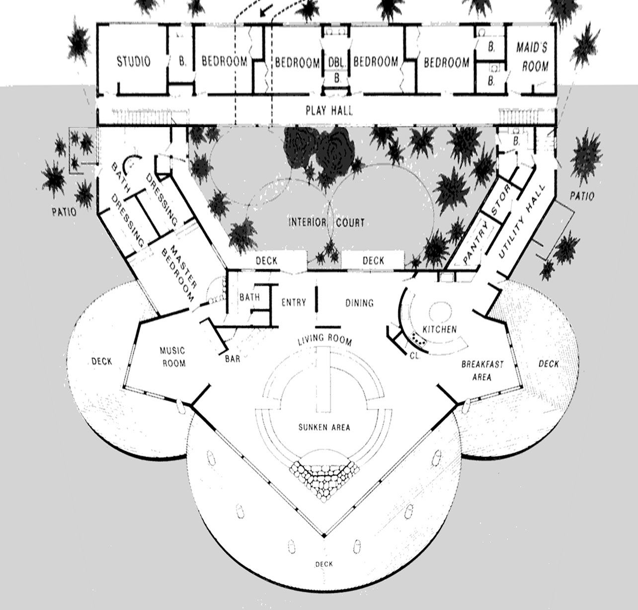 Sea View House Plans Google Search House Plans Hall Interior House