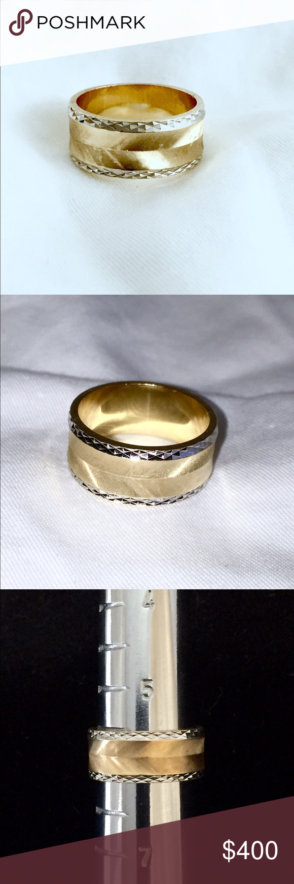 SOLD on Etsy💔 14k Ring (6.3g) ArtCarved Jewelry, Vintage