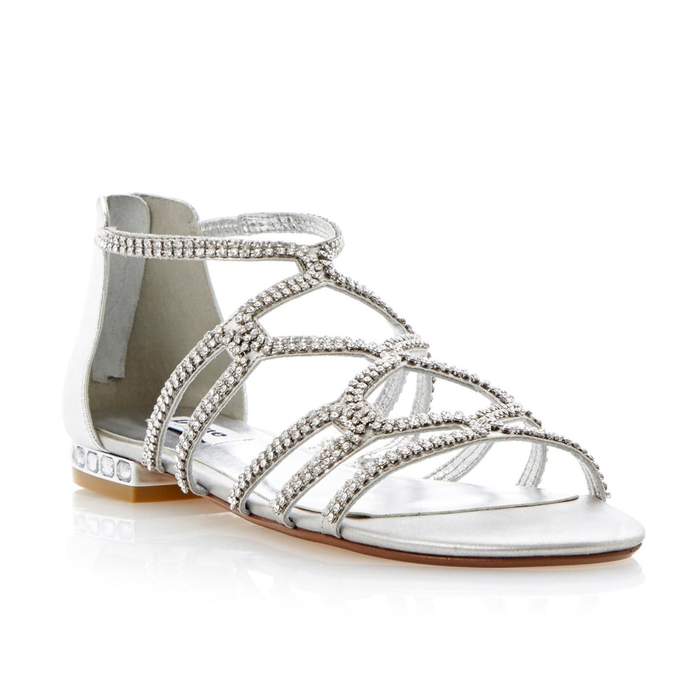 Wonderful 20+ Silver Dress Sandals Wedding   Dresses For Wedding Party Check More At  Http: