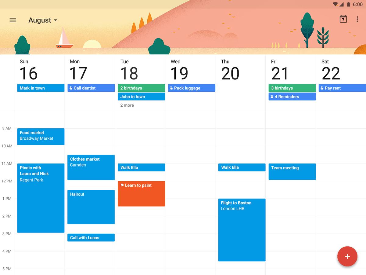 best online calendar