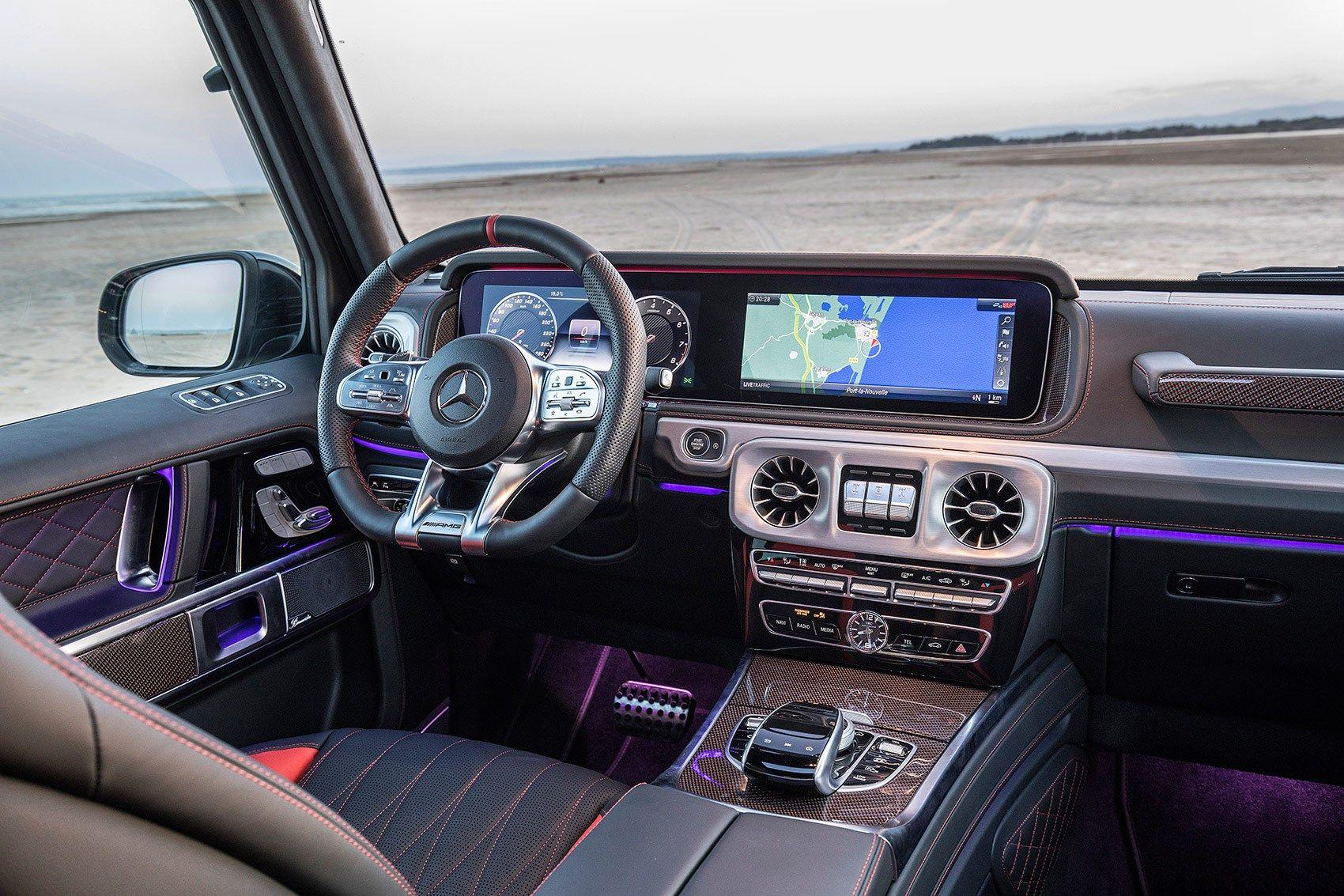 Mercedes Benz G350d 2019 Review Driving The Diesel G Class