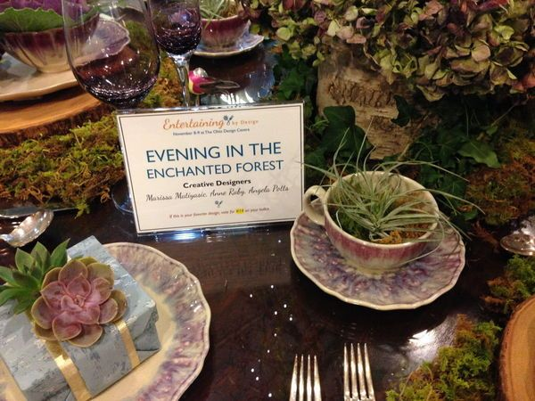 Enchanted Forest Themed Wedding Invitations: Entertaining By Design Tablescapes Inspired By Enchanted