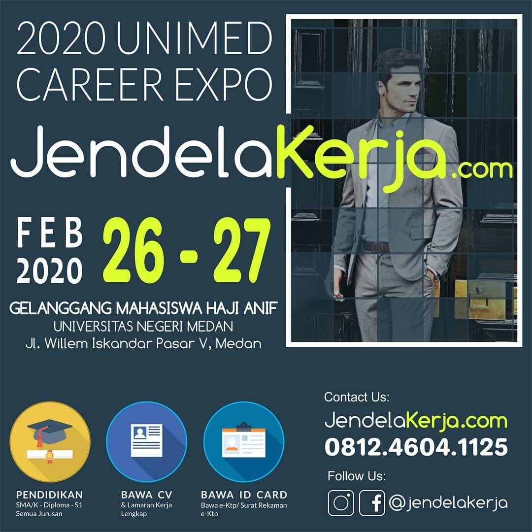UNIMED Career Expo Februari 2020 di 2020 Universitas