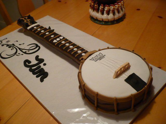 banjo birthday cake Chocolate and Carrot Cake Mini 200 Strawberry