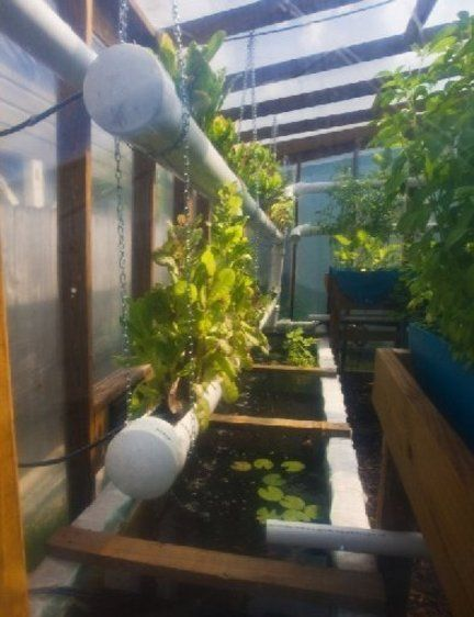 Love this idea for vertical gardening Aquaponics Gardening