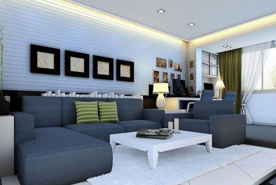 Best Paint for wall in 20   Light blue living room, Living room ...