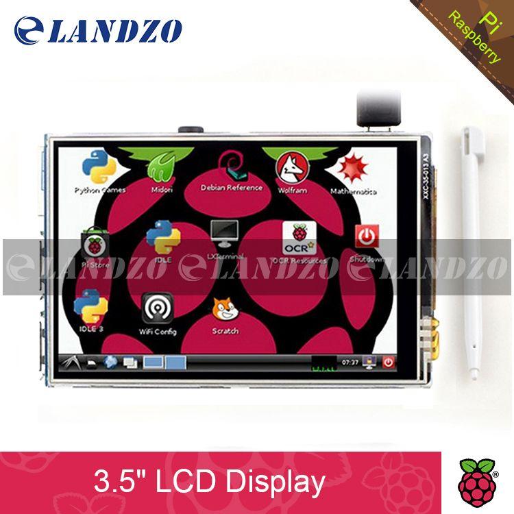 3.5 pollice 26 P SPI TFT LCD Display Dello Schermo con Touch Panel 320*480 per RPi1/RPi2/raspberry pi3 Bordo V3 (supporto Sistema Raspbian)