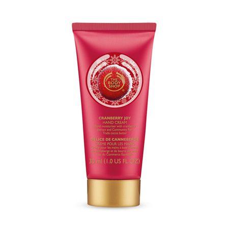 Cranberry Joy Hand Cream Creme Pour Les Mains Gel Douche Body Shop
