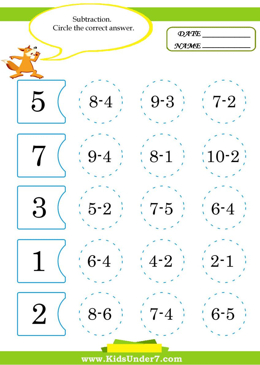 Math Worksheets For Kids Math Worksheets For Teachers Parents And Other Educators Free Printa Math Worksheets Math Activities Preschool Kids Math Worksheets [ 1190 x 848 Pixel ]
