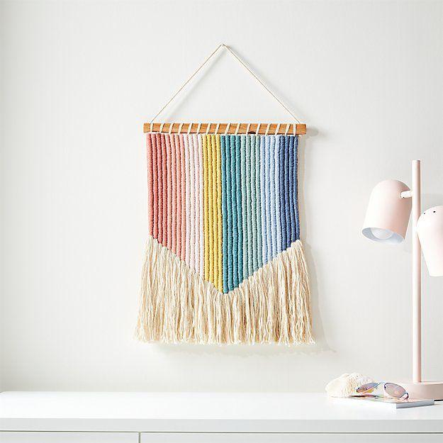 6  Tween Teen Girl  Mini Rag Wreath Wall Decor