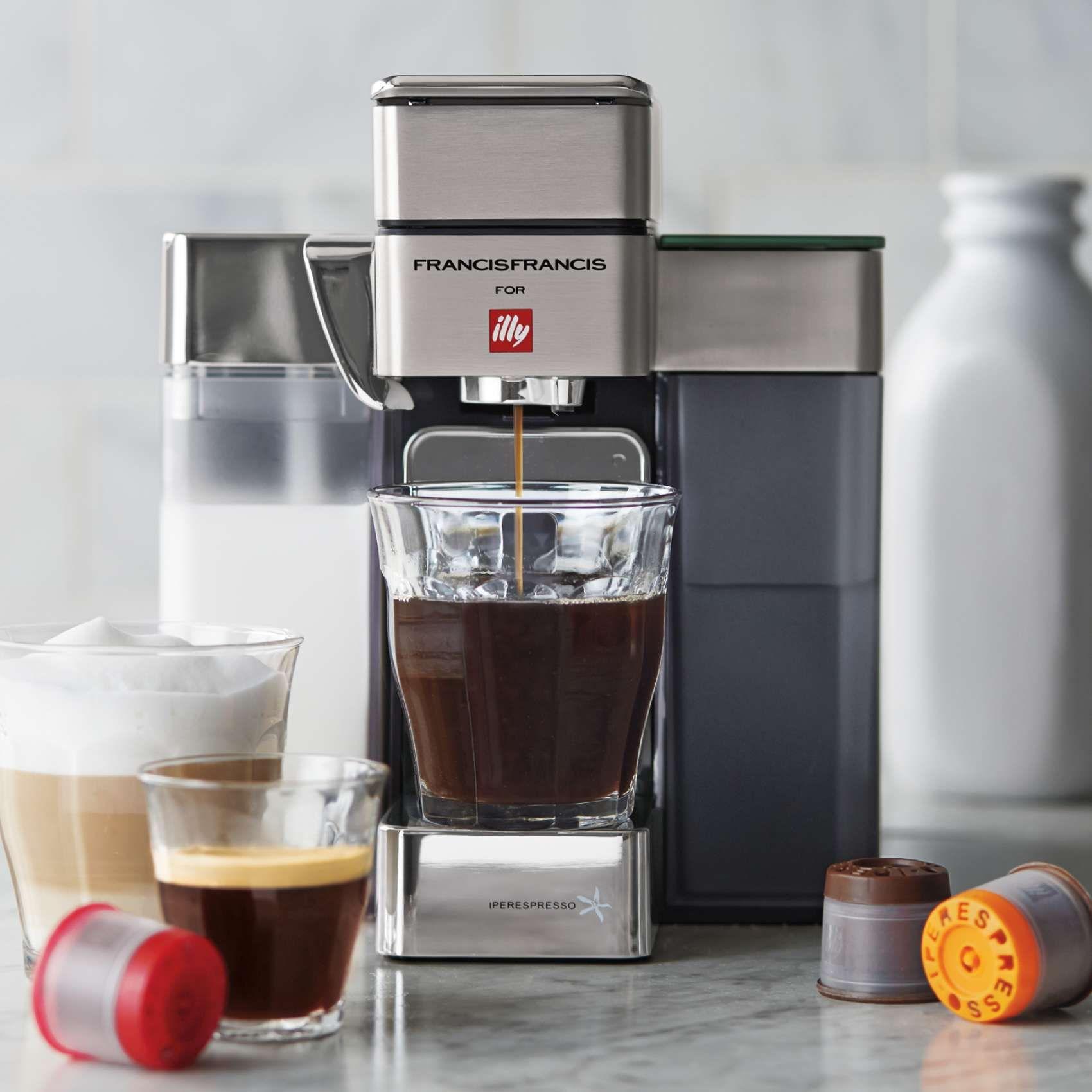 illy Y5 Milk Espresso and Coffee Sur La Table