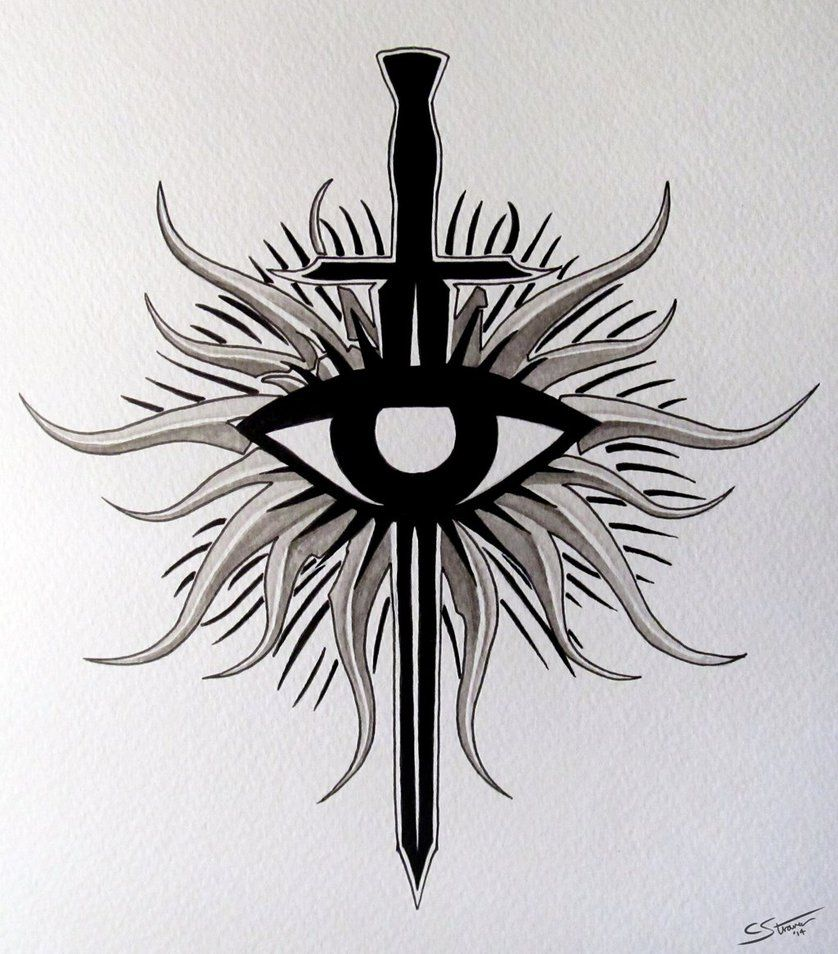 Dragon Age Inquisition Symbol Tattoo Ideas Dragon Age Dragon