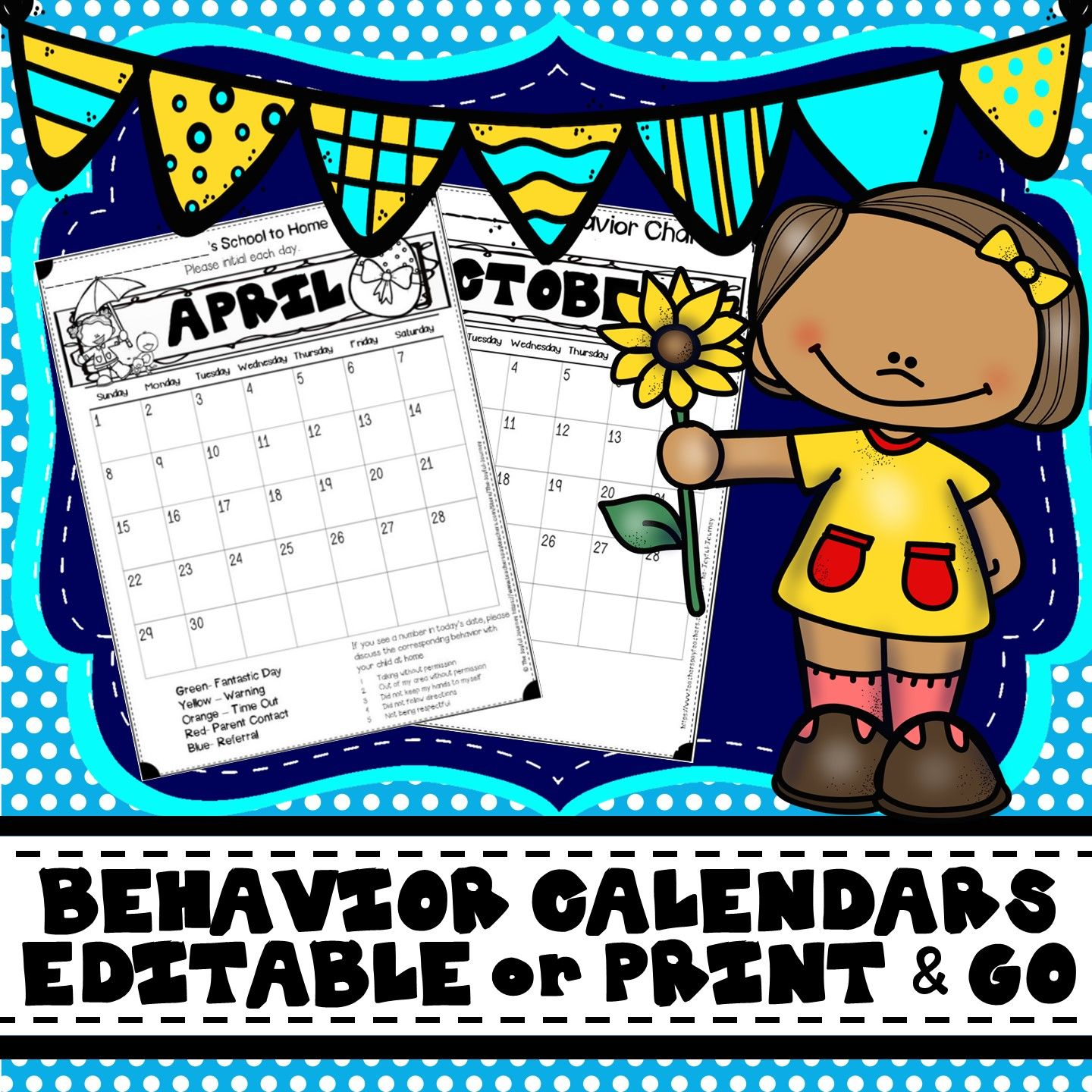 Behavior Calendars Editable