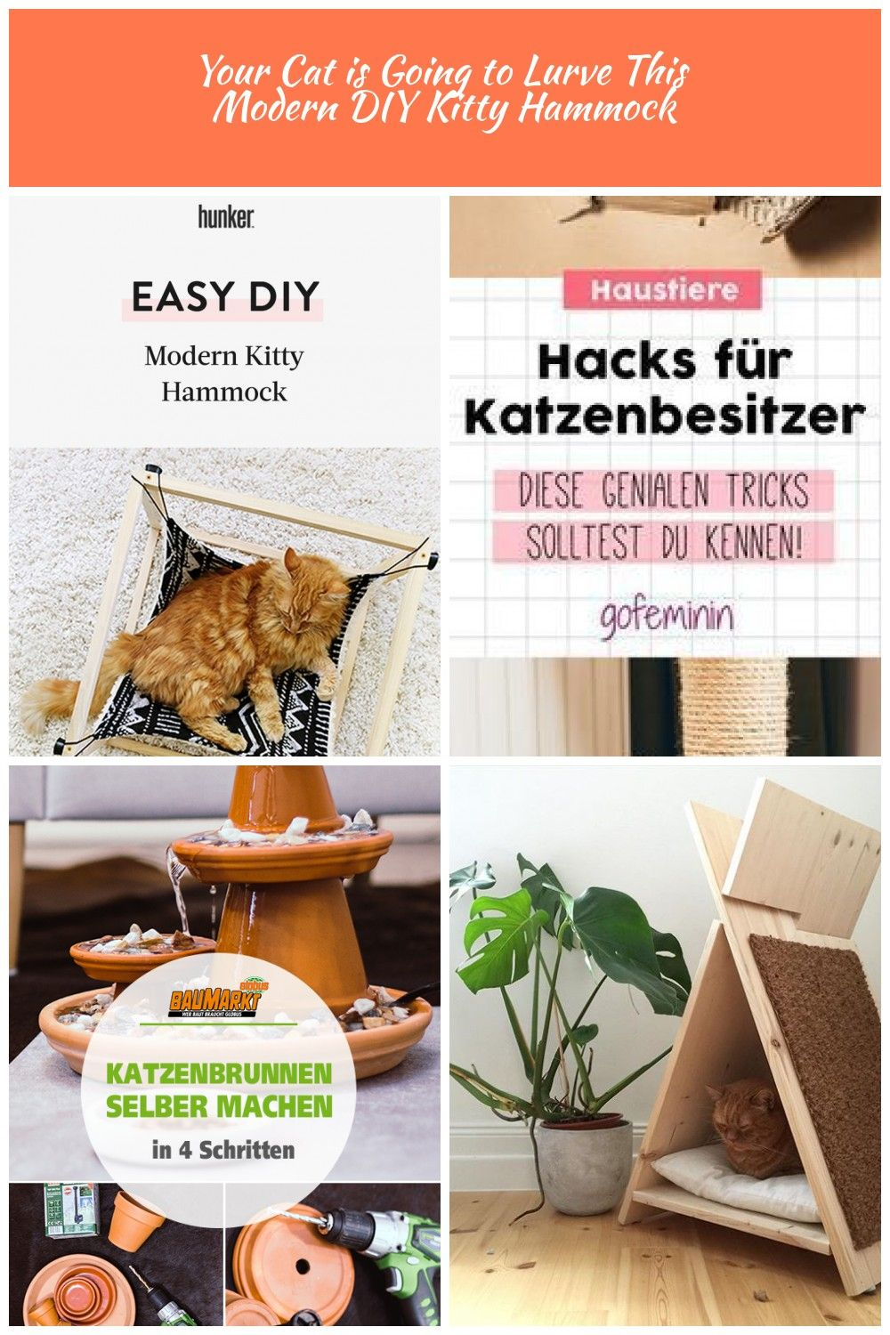 This is perfect for pet parents who want to give their a cozy place to lounge that matches your homes modern aesthetic Your kitty will love you even more after this Katze...