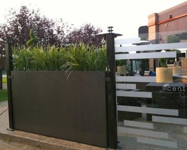What About For Back Wall Lets Gr Grow Higher Screen Tall Planter