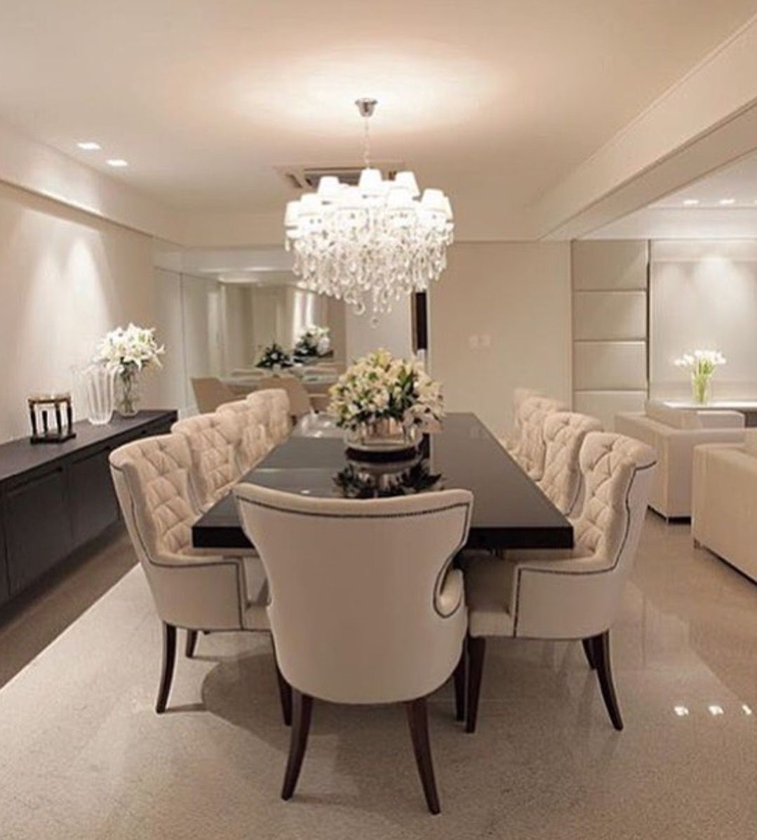 Pin By Vicky On House Pinterest Room Dining And House -> Sala Simples Clean