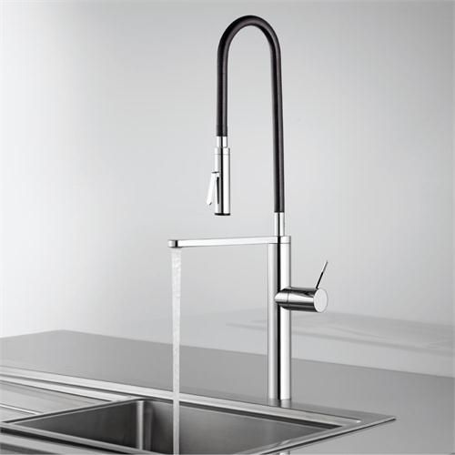Contemporary Kitchen & Bar Faucet From Kwc  Fixtures  Pinterest Awesome Designer Kitchen Faucet Design Decoration