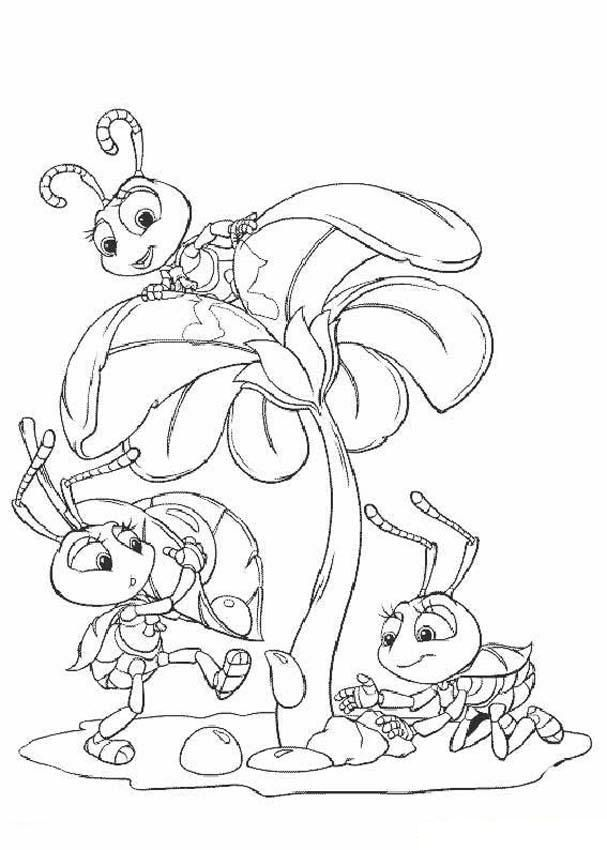 Free Printable Bug Coloring Pages For Kids | disney coloring pages ...