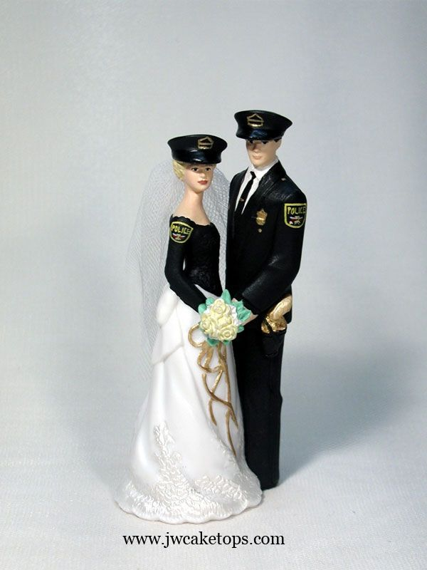 Our Special Day Bride And Groom Police Black Uniform In 2020