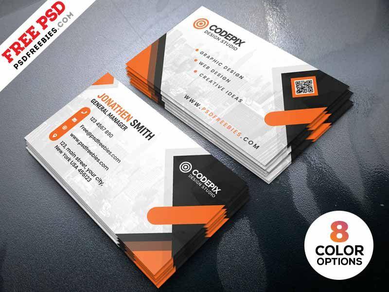visiting card design templates free download