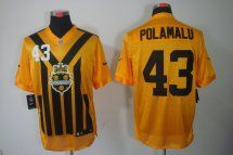 Pittsburgh Steelers  43 Troy Polamalu 1933 Throwback Jersey  04b2595cd