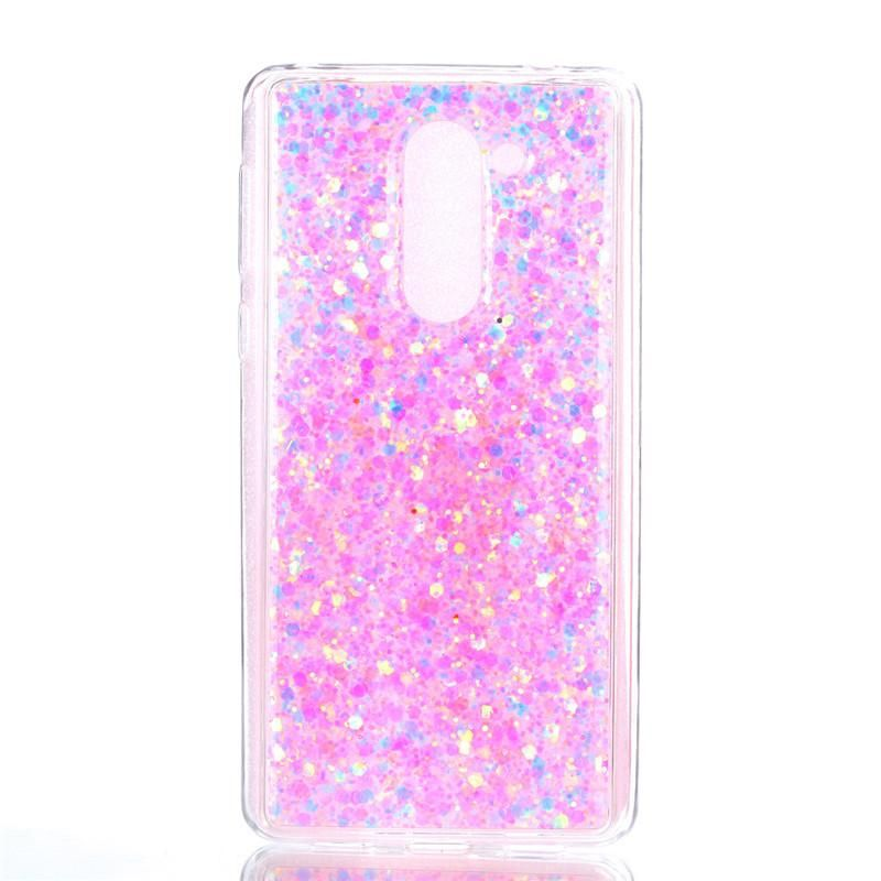 Bling Glitter Case Huawei Honor 6X Cover Soft Silicone Case For ...