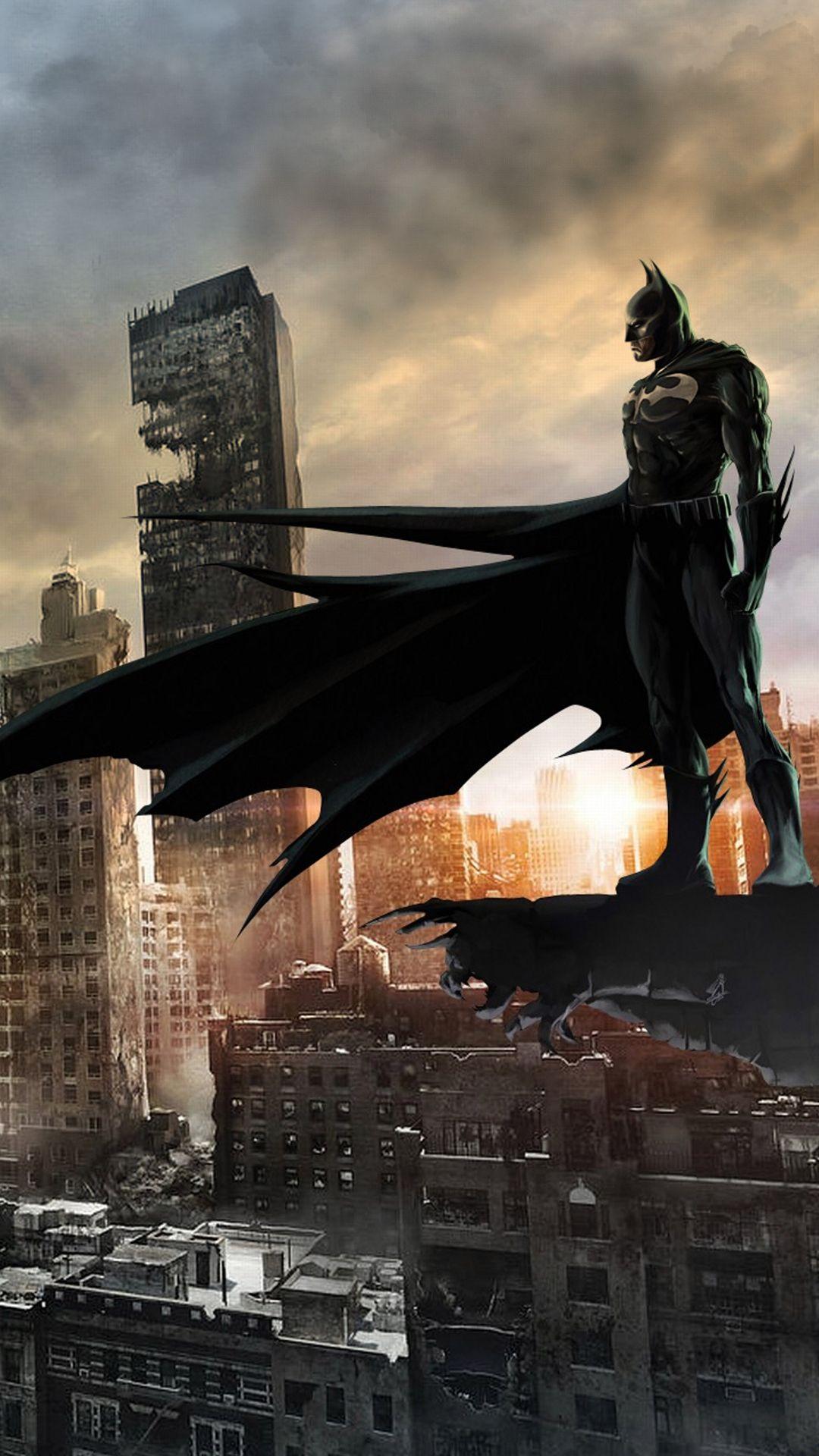 Batman City Mobile Hd Wallpaper Batman Wallpaper Iphone Batman Wallpaper Batman City 1080p batman phone wallpaper