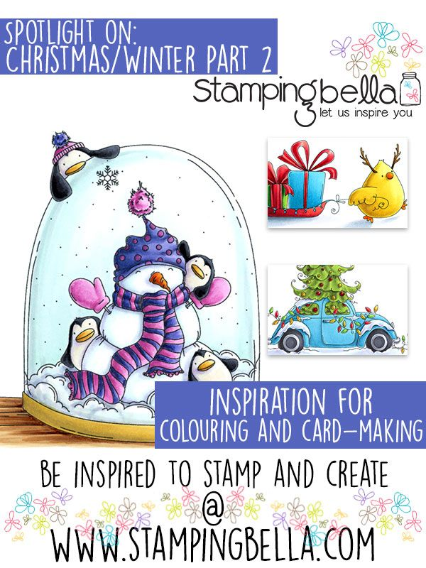 Stamping Bella Spotlight Tuesday Christmas & Winter at Stamping Bella Part Two