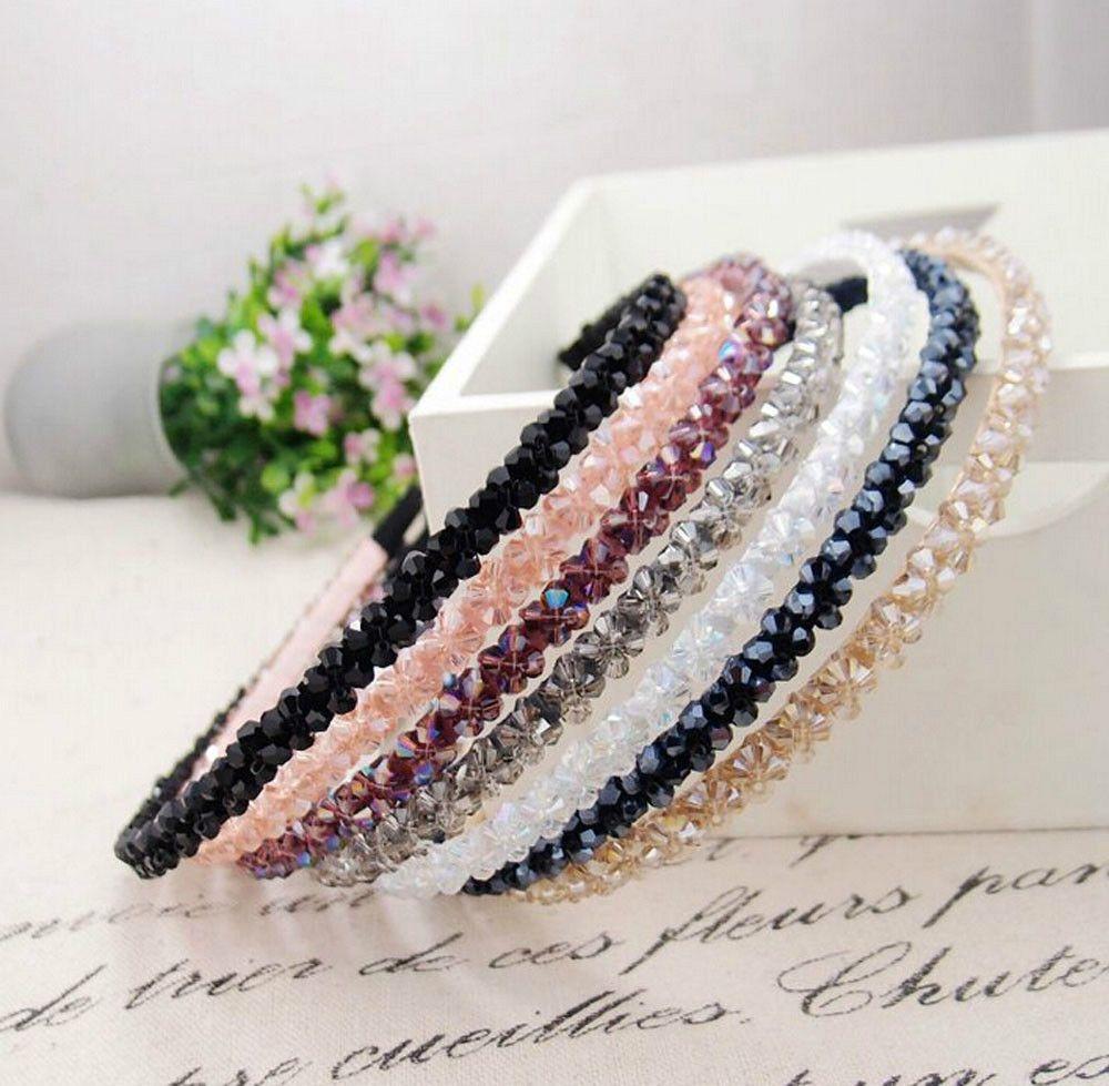 Free Shipping Wholesale 1Pcs/lot Fashion Women Handmade Crystal ...