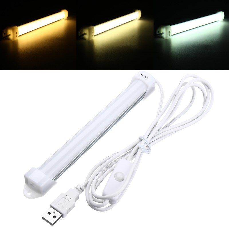 18cm 3w 5630 Smd Usb 14leds Rigid Strip Hard Bar Light With Cable On Off Switch Dc5v Bar Lighting Led Usb Lamp