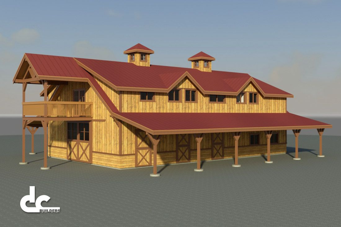 Horse Barn With Living Quarters In Lake Elsinore, California   DC ...