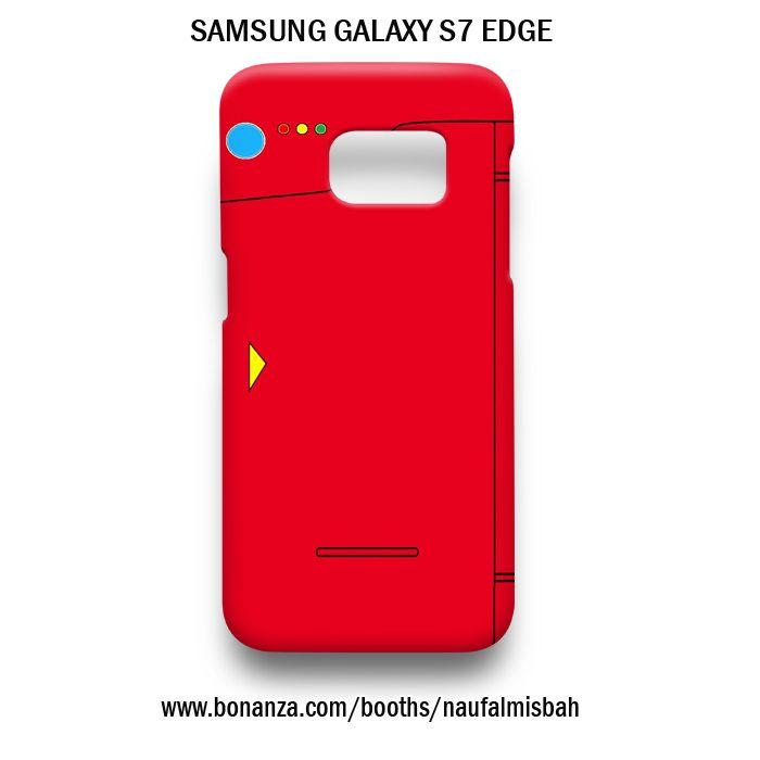 Galaxy S6 Edge Case Game Pokemon Thin