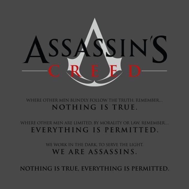 Assassins Creed Oath   Assassins creed, Creed, Assasins creed