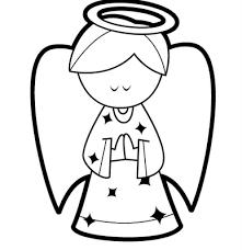 Natal Desenhos Para Colorir Anjo Para Colorir Desenho Anjo