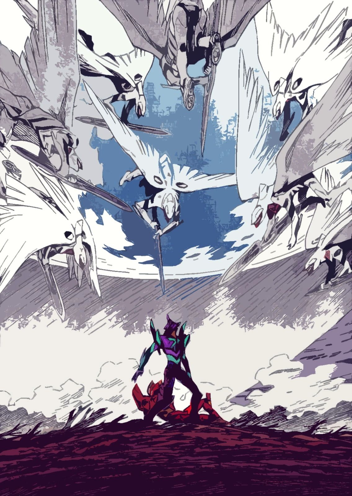 Evangelion Wallpaper 4k Iphone Trick Em 2020 Animes Wallpapers Anime Personagens De Anime
