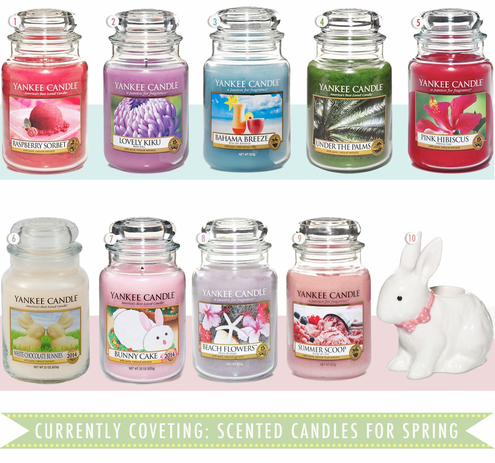The Best Yankee Candles This Spring 2017