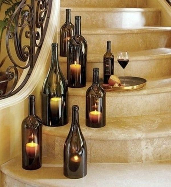 Wine Bottle Decorating Ideas Diy Lamp From Wine Bottles  Creative Decorating Ideas  Adult
