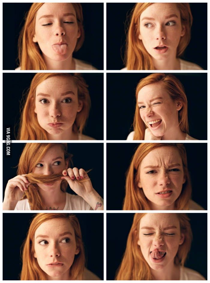 That S My Kind Of Redhead 3 Face Expressions Drawing Expressions Anatomy Poses