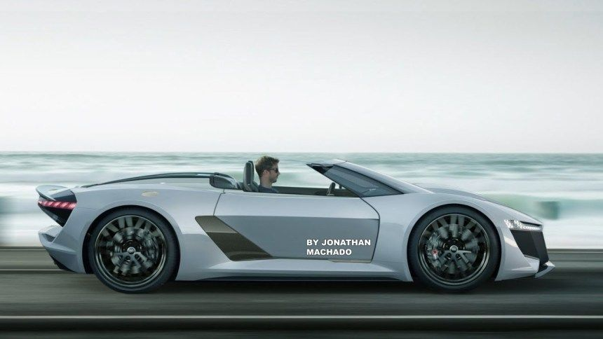 45 New 2020 Audi R8 E Tron Redesign And Concept Cakhd Cakhd Audi R8 V10 Audi Audi R8