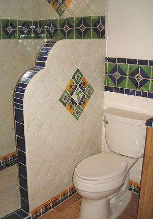 Mexican Tile Bathroom Spanish Style Bathrooms Mexican